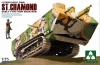 Takom 2002 1/35 ST. CHAMOND Early Type / Iron Mask