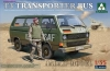 Takom 2013 1/35 Bundeswehr T3 Transporter Bus ( with figure)