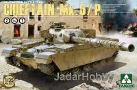 Takom 2027 1/35 British Main Battle Tank Chieftain Mk.5/P 2 in 1