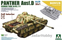 Takom 2103 1/35 Panther Ausf. D Early/Mid Full Interior Kit 2in1