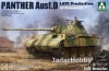 Takom 2104 1/35 Sd.Kfz.171 Panther Ausf.D Late Production w/ Zimmerit & full interior