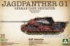 Takom 2106 1/35 Jagdpanther G1 Late Production Sd.Kfz.173 - full interior