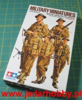 Tamiya 35223 1/35 British Infantry on Patrol