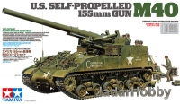 Tamiya 35351 1/35 U.S. Self-Propelled 155mm Gun M40