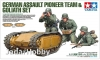 Tamiya 35357 1/35 German Assault Pioneer Team & Goliath Set.