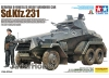Tamiya 37024 1/35 German 6-Wheeled Heavy Armored Car Sd.Kfz.231