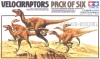 Tamiya 60105 Veociraptors Pack of six (1/35)