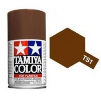 Tamiya Spray TS-01 Red Brown