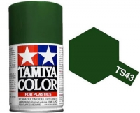 Tamiya Spray TS-43 Gloss Racing Green