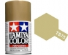 Tamiya Spray TS-75 Metallic Champagne Gold