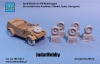 Tank Models TM72012 1/72 Sand-Wheels for VW Kübelwagen