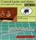 Taurusmodels D3203 Control knobs and dishes for Gotha G.IV (1/32)