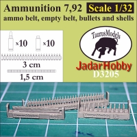 Taurusmodels D3205 Ammunition 7,92 (1/32)