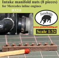 Taurusmodels D3211 Intake manifold nuts (8 pieces) (1/32)