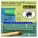 Taurusmodels D3214 Spark Plugs type IV (10 pieces) (1/32)