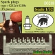 Taurusmodels D3218 Spark Plugs r1212e/1218e (15 pieces) (1/32)