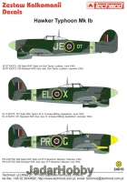 Techmod 24016 1/24 Hawker Typhoon Mk Ib