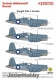 Techmod 48121 1/48 Vought F4U-1 Corsair