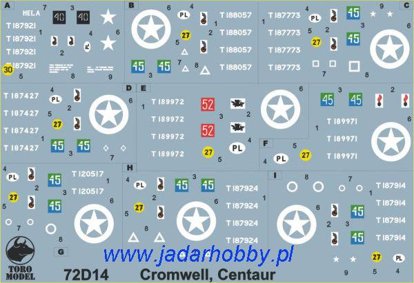 ToRo 72D13 Polish Army vehicles - registration numbers 2000 pattern, unit insignia & stencils, vol.3 (1/72)