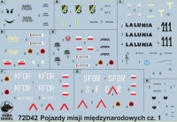 ToRo 72D42 1/72 Polish Army vehicles on foreign missions vol.1