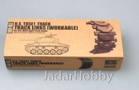 Trumpeter 02036 1/35 U.S. T85E1 track for U.S. M24 light tank (late)