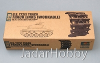 Trumpeter 02037 1/35 U.S. T72E1 steel track for U.S. M24 light tank (early)