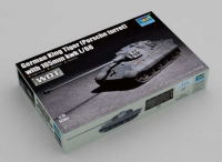 Trumpeter 07161 1/72 King Tiger (Porsche turret) with 105mm kwk L/68