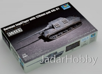 Trumpeter 07165 1/72 German JagdTiger with 128mm pak 44L-61