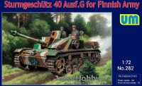 UM 282 1/72 Sturmgeschutz 40 Ausf.G for Finnish Army