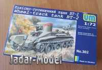 UM-MT 302 1/72 BT-2 Russian WWII Light Tank