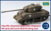 UM 382 1/72 M4 Sherman with M26 Pershing Turret