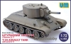 UM 442 1/72 M4 T-34 Assault Tank with Turret D-11