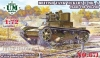 UM-MT 671 1/72 British tank Vickers E Mk.A (made for Poland) (rubber tracks)