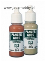 Vallejo Panzer Aces 70.343 Shadows Flesh (farba akryl 17ml)