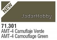 71301 Vallejo Model Air AMT-4 Camouflage Green