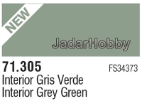 71305 Vallejo Model Air Interior Grey Green FS34373