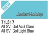 71317 Vallejo Model Air AII SV Gol Light Blue