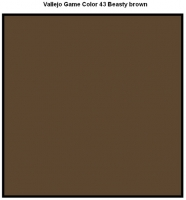 72043 Vallejo Game Color - Beasty brown(17ml)