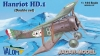 Valom 14411 1/144 Hanriot HD.1 - Double set