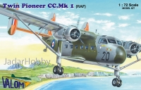 Valom 72136 1/72 Scottish-Aviation Twin Pioneer (RAF)