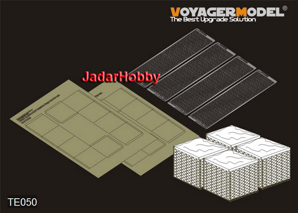 Voyager TE050 NATO Bastion Cage Barrier set (PATTEN 3) (1/35)