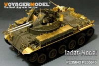 Voyager PE35643 1:35 US M42A1 Duster early version basic