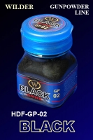 Wilder HDF-GP-02 - Black, Gunpowder Line (50ml)