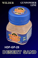 Wilder HDF-GP-28 - Desert Sand, Gunpowder Line (50ml)