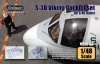 Wolfpack WP48133 1/48 S-3B Viking Wing Cockpit set (Italeri)