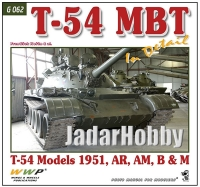 WWP G062 - T-54 MBT in Detail