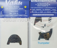 Yahu Models YMA2404 (Backorder) 1/24 Me 109G (Trumpeter)