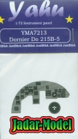 Yahu Models YMA7213 Dornier Do 215B-5 Instrument Panel (1:72)