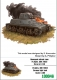 Zebrano 100046 1/100 Pz.Kpfw. 38H 735(f) German light tank