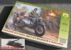 Zvezda 3607 1/35 German R-12 Motorcycle w/Side Car